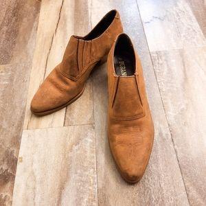 Durango Western Tan Leather AnkleBooties 9